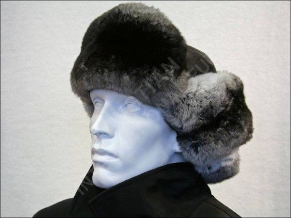 147 Chinchilla fur cap