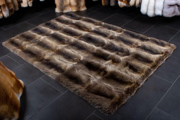 Canadian Raccoon Fur Carpet Wild Fur