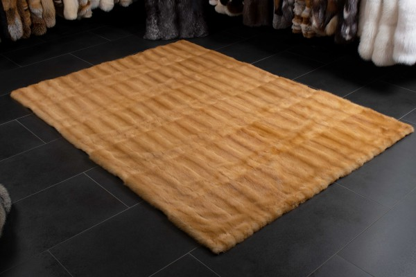 Weasel Fur Rug - Russian Kolinsky Carpet