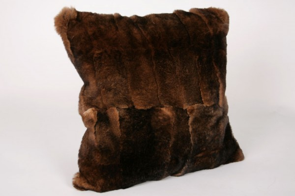 Rex Rabbit Fur Pillow