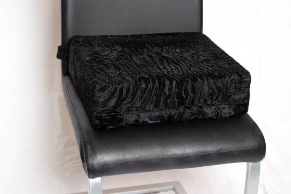 Comfortable Genuine Fur Seat Cushion with Persians Fur