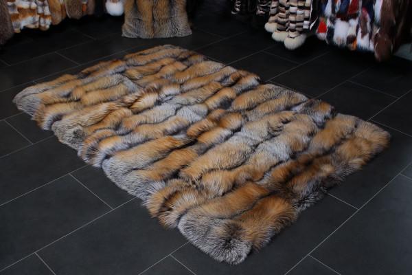 Golden Cross Real Fur Floor Carpet