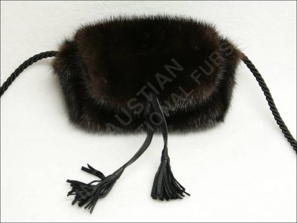 675 small mink handbag