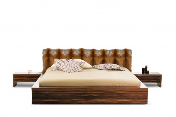 European Red Fox Headboard for Beds