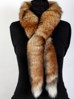 European red foxes fur boa
