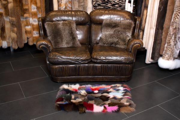 Genuine Fox Fur Carpet - SAGA Furs