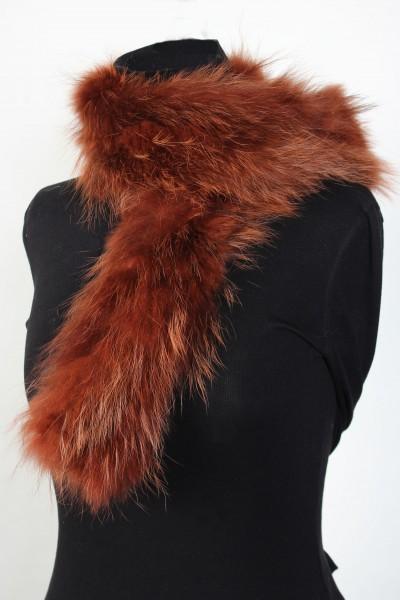 Canadian Raccoon Fur Scarf