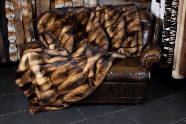 Fitch Fur Throw from Natural Skins