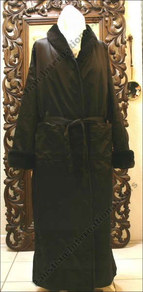 463 Bathrobe in sheared SAGA mink